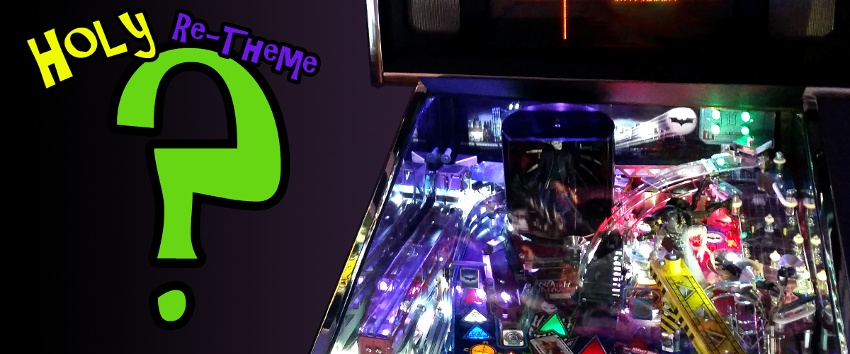 Batman 66 pinball re-theme by Stern.